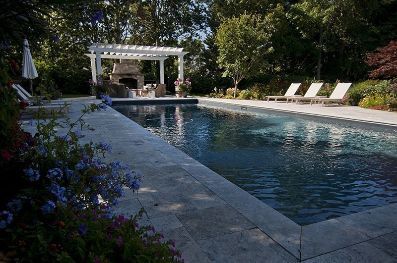 Shoreline Pools pool coping ideas
