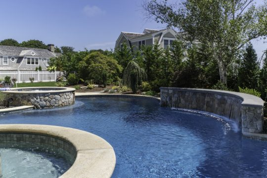 cape cod swimming pool builders