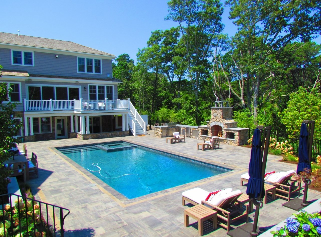 cape cod swimming pool design